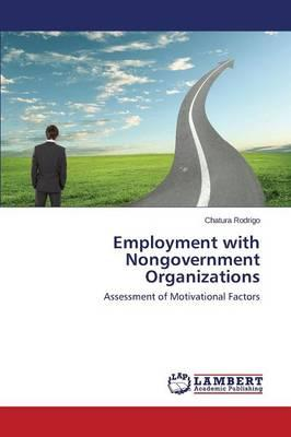 Employment with Nongovernment Organizations