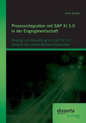 Prozessintegration mit SAP XI 3.0 in der Engergiewirtschaft