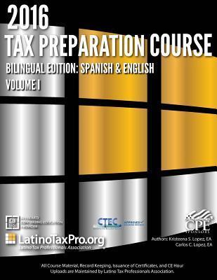 Tax Preparation Course 2016
