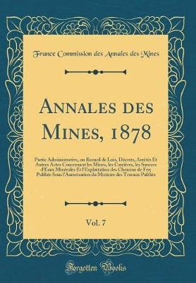 Annales des Mines, 1878, Vol. 7
