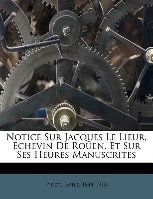 Notice Sur Jacques L...