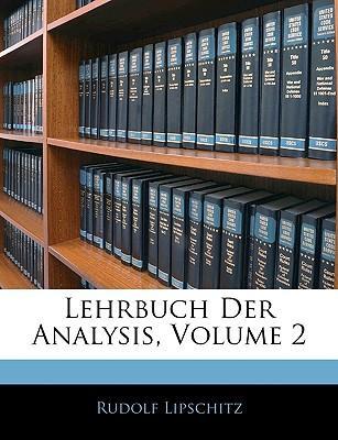 Lehrbuch Der Analysis, Volume 2