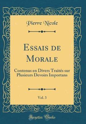 Essais de Morale, Vol. 3