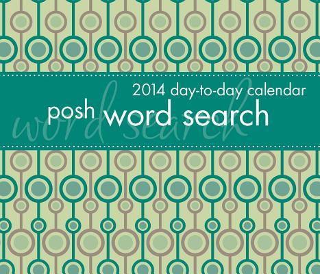 Posh Word Search 2014 Calendar