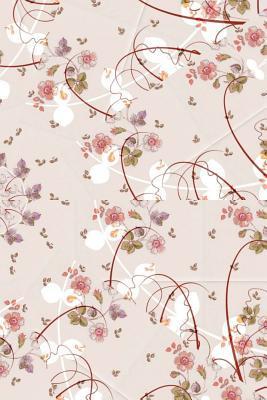 Stylish and Elegant Rose Petal Flower Notebook