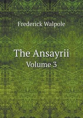 The Ansayrii Volume 3