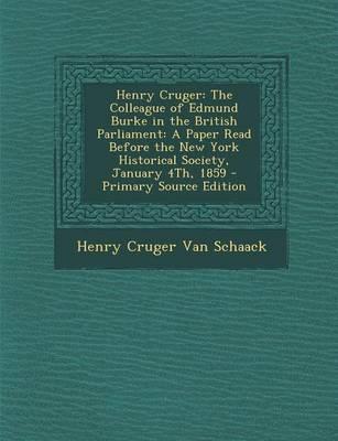 Henry Cruger