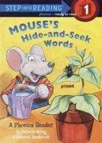 Mouse's Hide-and-Seek Words