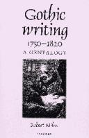 Gothic Writing 1750-...