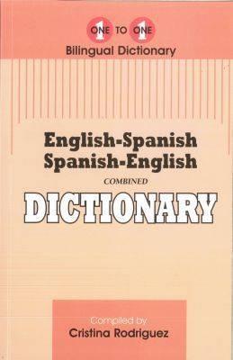 English-Spanish & Spanish-English One-to-One Dictionary (exam suitable)