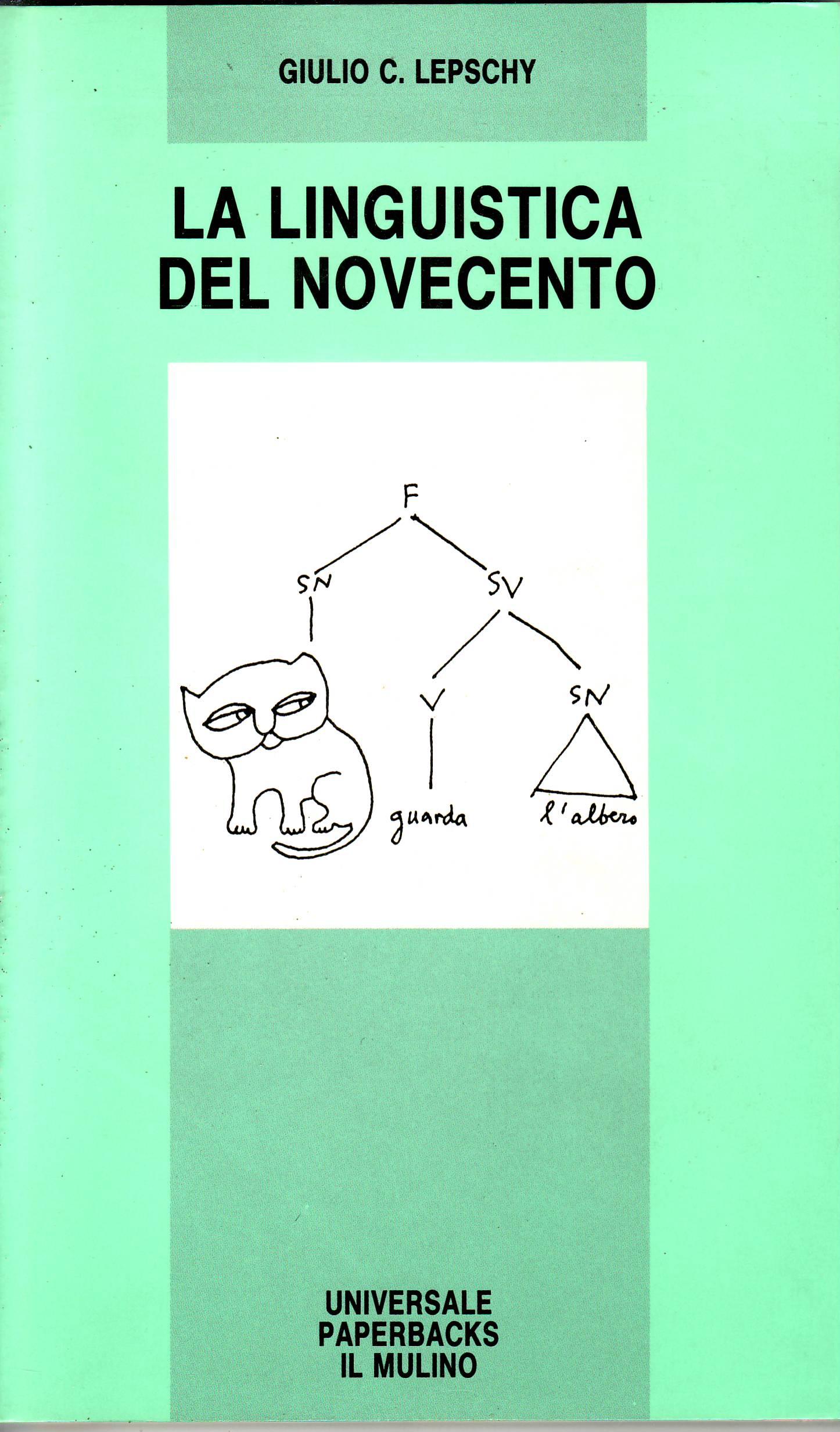La linguistica del Novecento