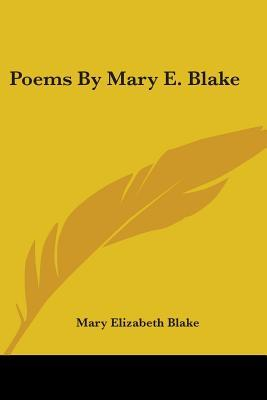 Poems By Mary E. Blake