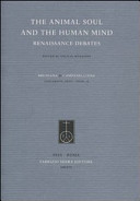 The Animal Soul and the Human Mind