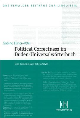 Political Correctness Im Duden-universalworterbuch