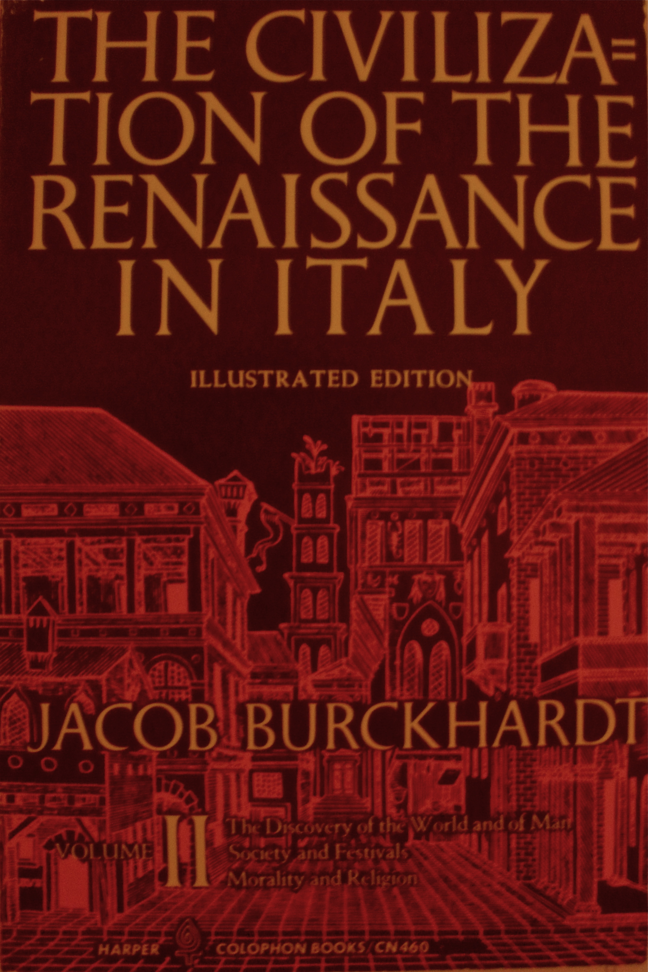 Civilization of the Renaissance in Italy. Volume II