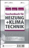 Taschenbuch für Heizung  Klimatechnik 11/12