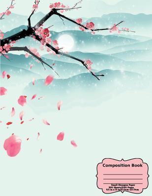 Floating Cherry Blossoms Composition Book