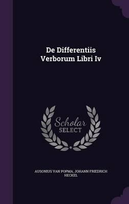 de Differentiis Verborum Libri IV