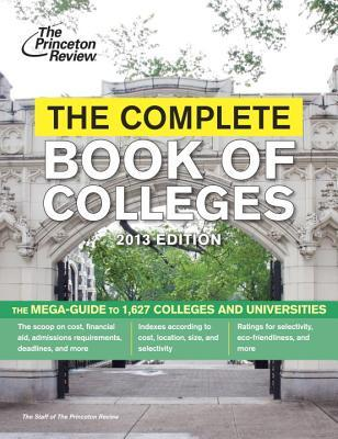 The Complete Book of Colleges, 2013
