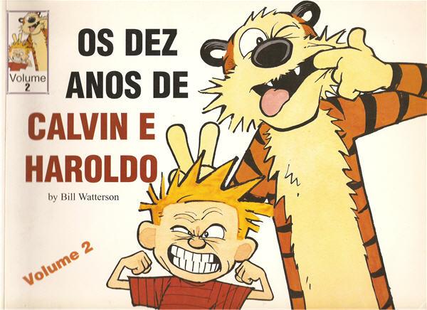 Os Dez Anos de Calvin e Haroldo