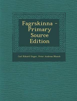 Fagrskinna - Primary Source Edition