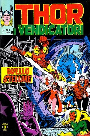 Thor e i Vendicatori (Il Mitico Thor) n. 229