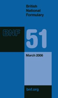 British National Formulary 2006