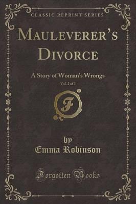 Mauleverer's Divorce, Vol. 2 of 3
