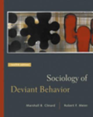 Sociology of Deviant Behavior With Infotrac