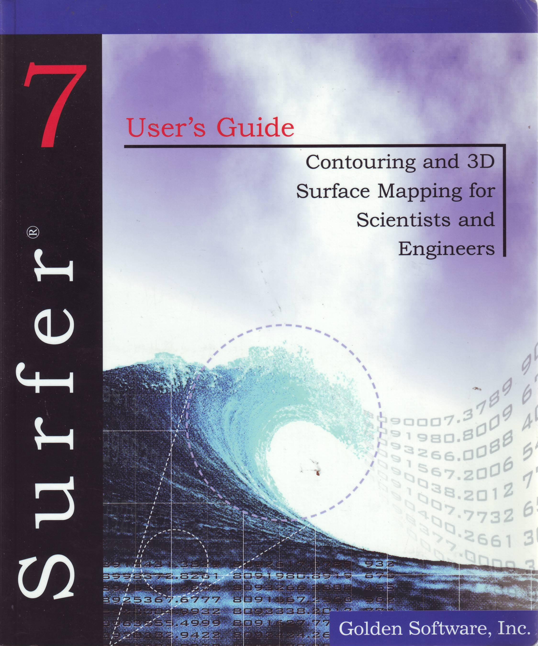 Surfer 7 User's Guide