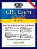 GRE Exam 2006, Premier Program