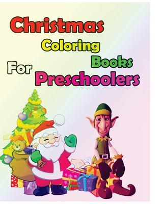 Christmas Coloring Books for Preschoolers