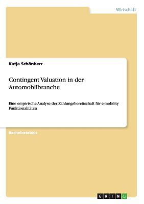 Contingent Valuation in der Automobilbranche