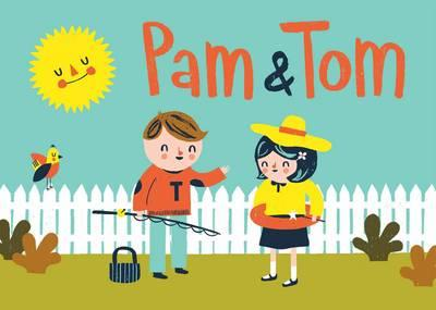 Pam And Tom The Colouring Book