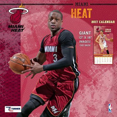 Miami Heat 2017 Calendar
