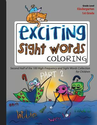 EXCITING Sight Words Coloring 2