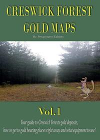 Creswick Forest gold maps
