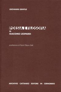 Poesia e filosofia d...