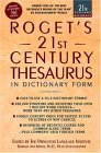 Roget's 21st Century Thesaurus, Third Edition