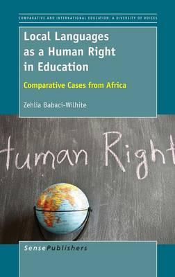 Local Languages As a Human Right in Education