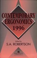 Contemporary Ergonomics 1996