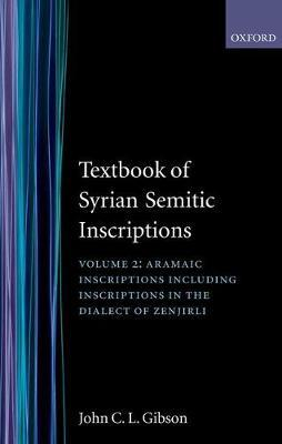 Textbook of Syrian Semitic Inscriptions