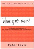 Write Great Essays!: Student-friendly Guide, Version for Shrinkwraps