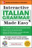 Interactive Italian Grammar Made Easy w/CD-ROM