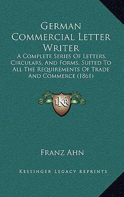 German Commercial Letter Writer