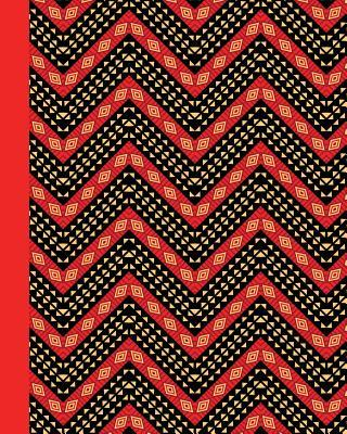 Journal - African Pattern, Red