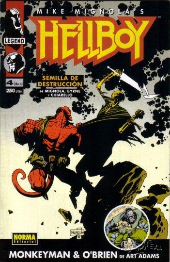 Hellboy: Semilla de ...