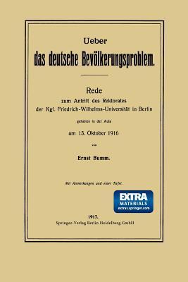Ueber Das Deutsche Bevölkerungsproblem
