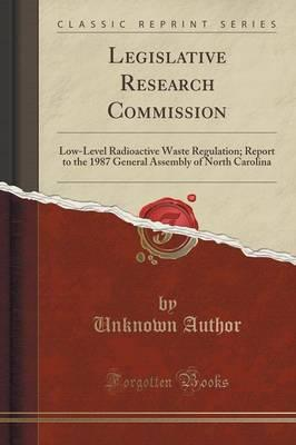 Legislative Research Commission