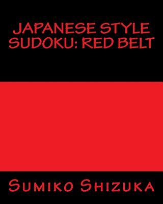 Japanese Style Sudoku Red Belt